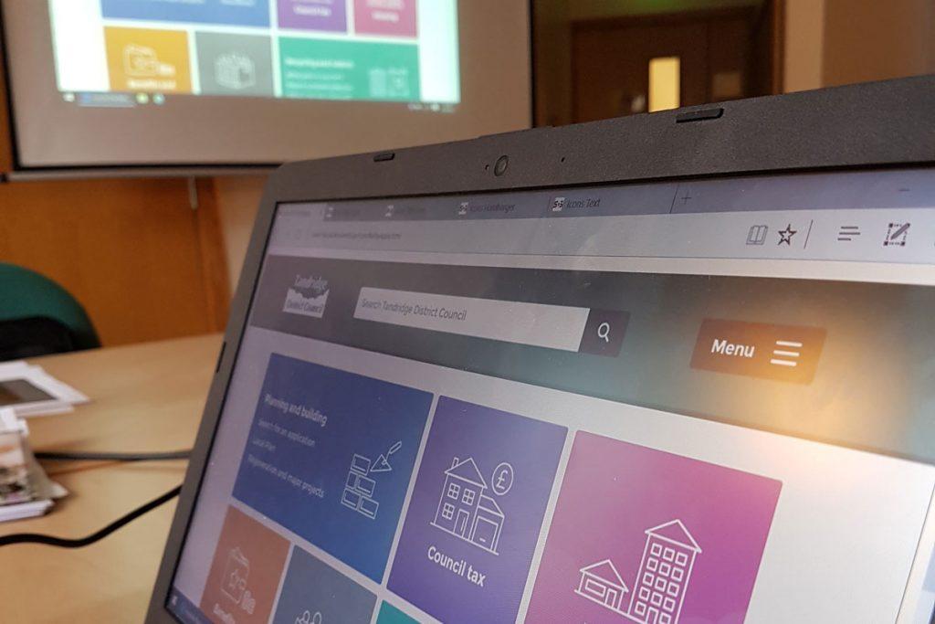 Tandridge District Council website redesign