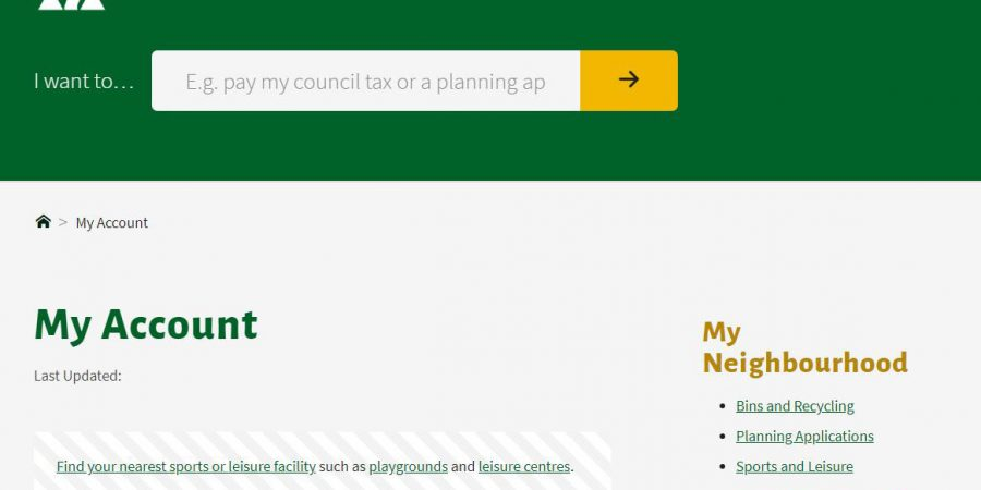 Tonbridge & Malling Borough council website user testing