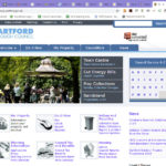 Dartford Borough Council website homepage