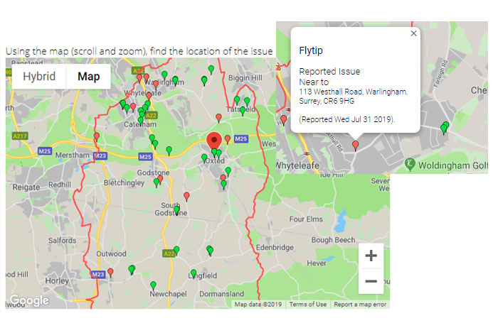 Tandridge Usability Testing Online Waste Forms
