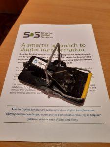 digitally sensored mouse trap