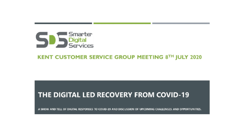 Digital Led Recovery from COVID-19